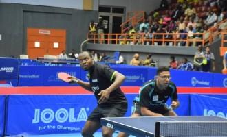 Nigeria Open: Quadri, Assar team up to beat Nigerian duo in doubles event