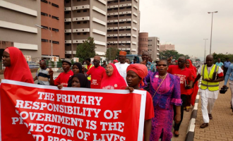 PHOTOS: BBOG protesters march to Aso Rock