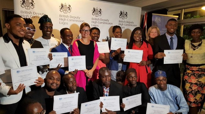 Of 6,043 applications, 43 Nigerians bag Chevening award