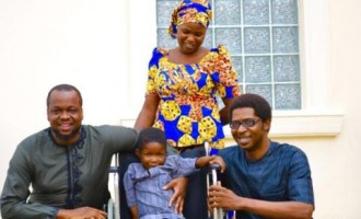 Chibok boy paralysed by Boko Haram may walk again