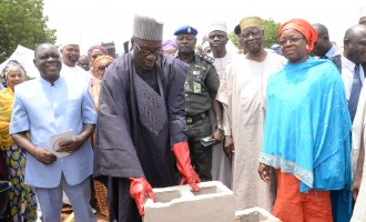 Ahmed lays foundation for new workers' secretariat in Kwara