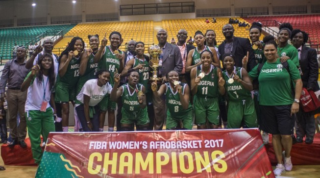 D'Tigress Beat Senegal To Win Afrobasket 2017