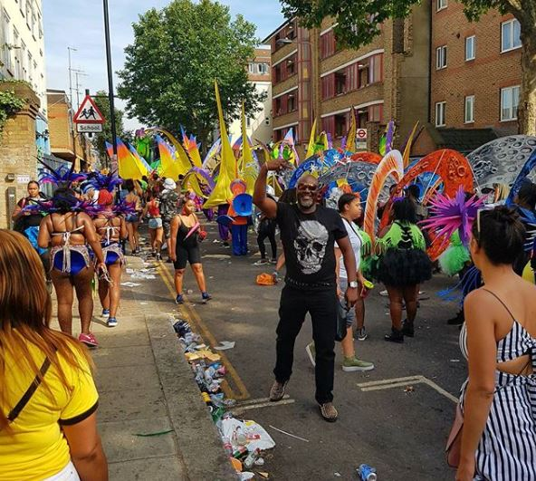 DinoMelaye at LondonCarnival2