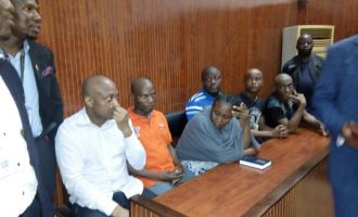 'They've been beating me in Kirikiri… no good food' — Evans weeps in court
