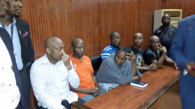 'They've been beating me in Kirikiri… no good food' — Evans weeps in court