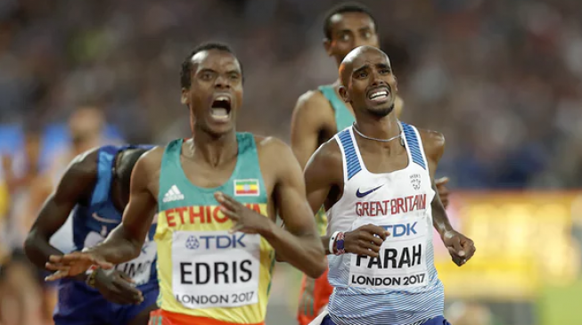 London 2017: Farah fails to win 5000m gold, settles for silver