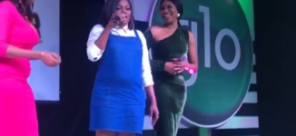 Baby bump or belly fat? Funke Akindele leaves fans guessing