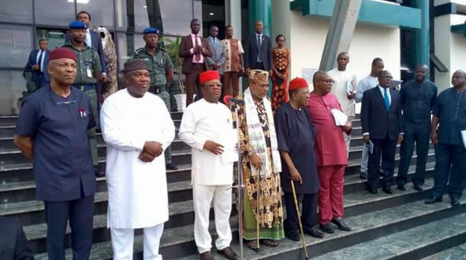 'Election boycott': South-east govs meet with Nnamdi kanu