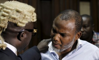 Nnamdi Kanu's surety asks court to order arrest of IPOB leader