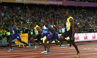 How Justin Gatlin beat Usain Bolt to 100m title