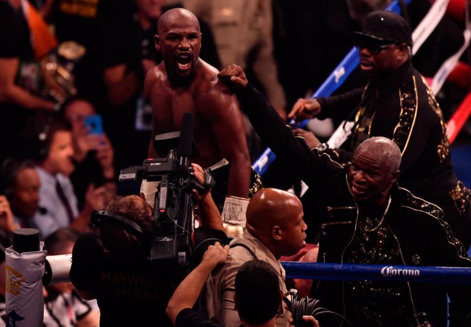 Mayweather, McGregor lock horns in superfight