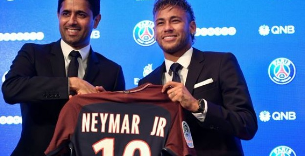 How Neymar sealed the most expensive deal in football history