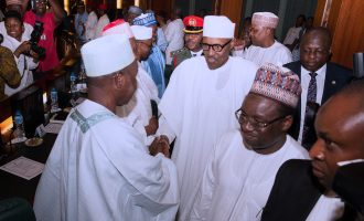 Buhari asks govs to give him more time to decide on 2019