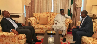 Saraki: What we discussed with Buhari in London