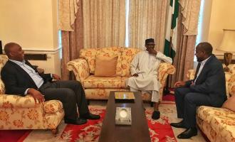 Saraki: What we discussed with Buhari in London