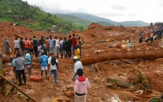 The deadly mudslide in Sierra Leone