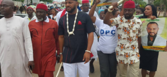 Yul Edochie says viral video of him conceding defeat to Obiano is 'a movie'