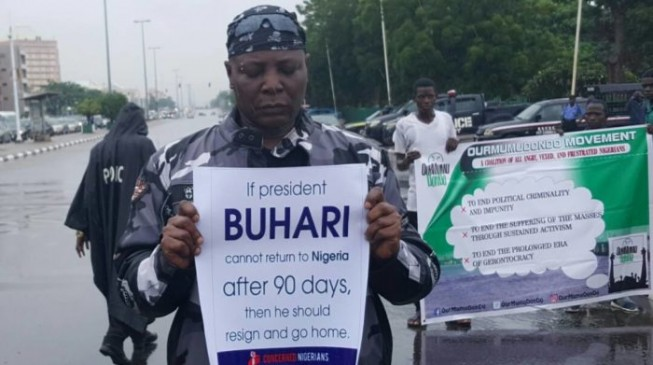 Falana: Buhari should be embarrassed by treatment of #OurMumuDonDo protesters