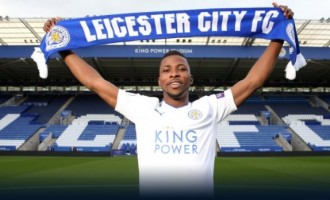 Iheanacho completes move from Manchester City to Leicester