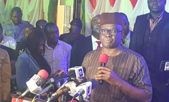 Fayose: I'll defeat Buhari in a free and fair election