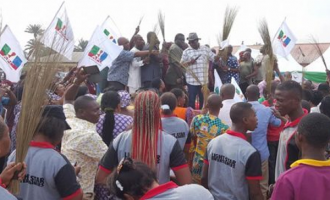 Campaign for Buhari's second term begins in Ebonyi