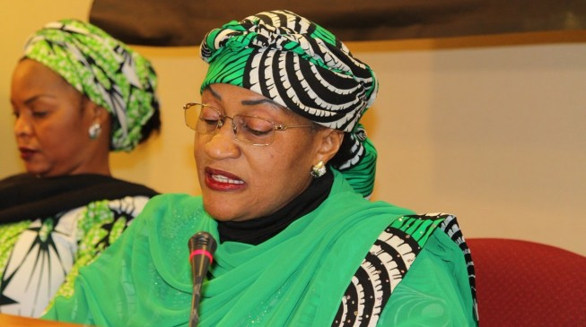 Women affairs minister writes Buhari, seeks to contest Taraba guber poll