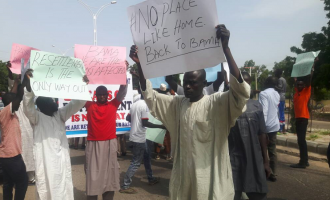 Protesting IDPs remanded in prison