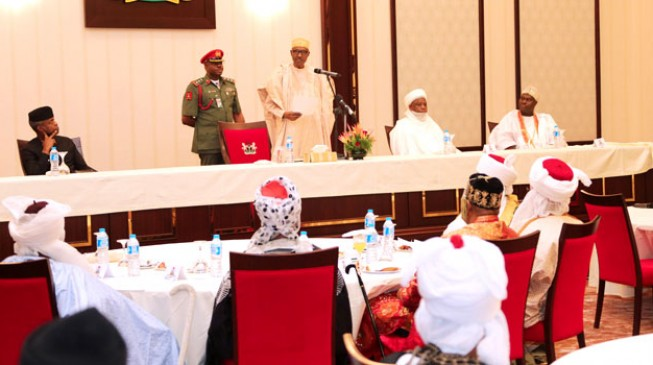Buhari begs governors: Please pay salaries, pensions