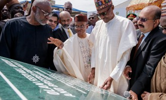 Buhari inaugurates feed mill poultry in Kaduna — the largest in sub-Saharan Africa