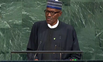 Buhari speaks at UN, says ISIS must be stopped from infiltrating Nigeria