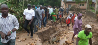 Ekiti warns residents to stay away from area affected by soil creep