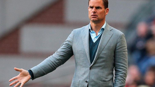 Frank de Boer gets the kick — deservedly so