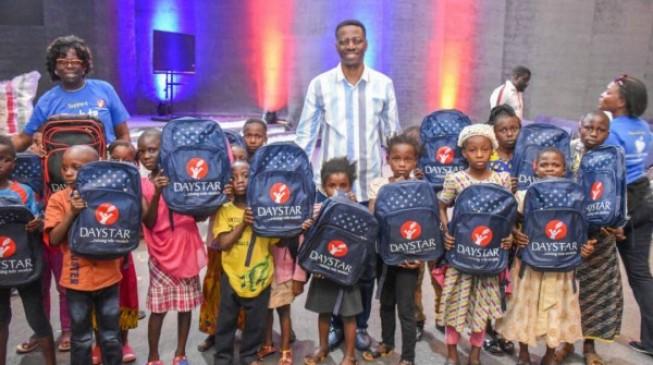 Daystar donates school materials to 20,000 children