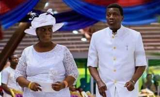 If you touch my wife, I'll kill you, says Adeboye