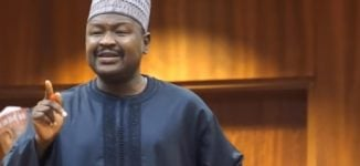 Misau raises the alarm on 'plot' to remove Saraki, says a minister pulling the strings