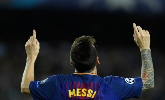 Man United, Juventus win as Messi scores 700th career goal