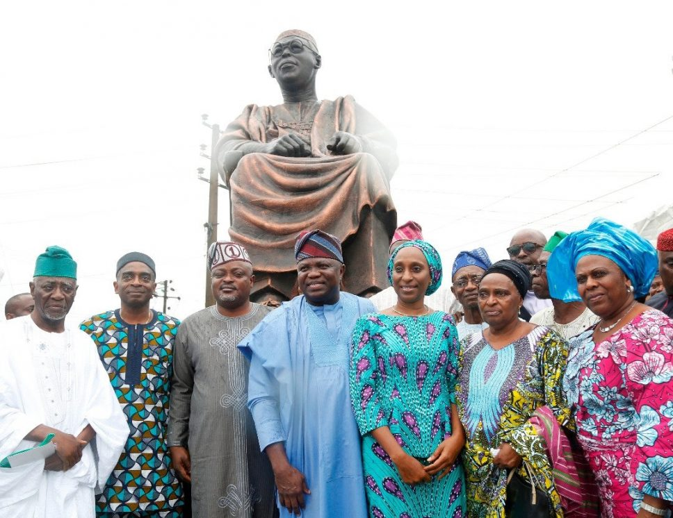 Lagos honours Awolowo, unveils giant statue