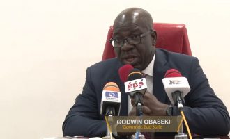 Edo is safe, says Obaseki ahead of security meeting with Buhari