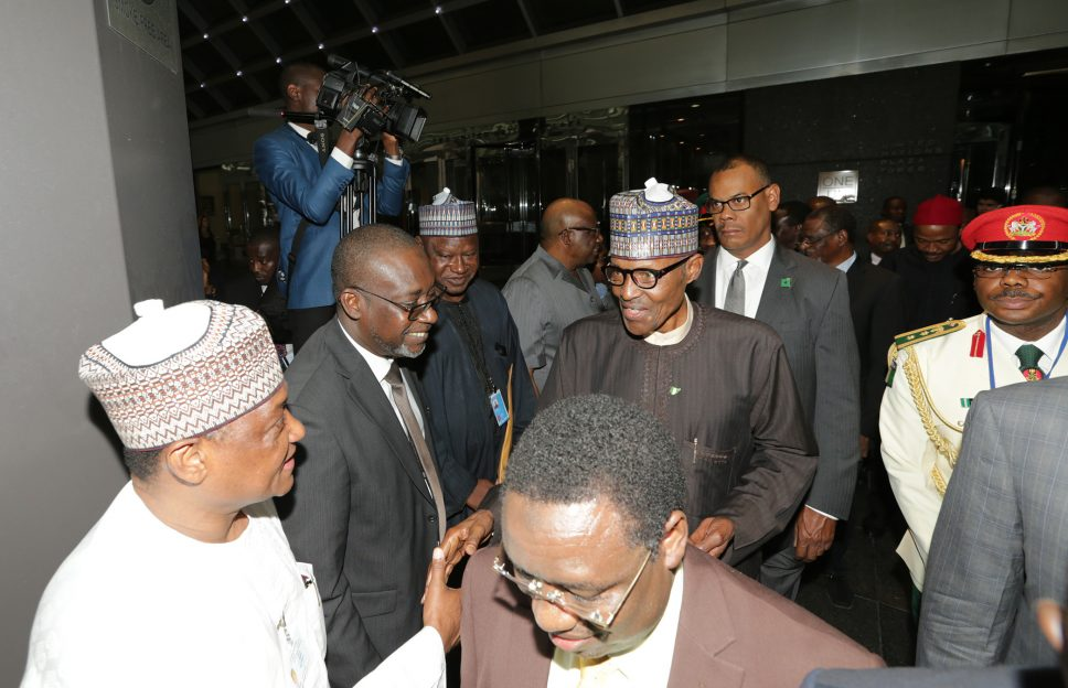 Buhari leaves US after UN General Assembly
