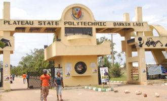 Plateau poly students protest 'extortion' by management