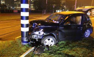 Sergio Aguero involved in car crash