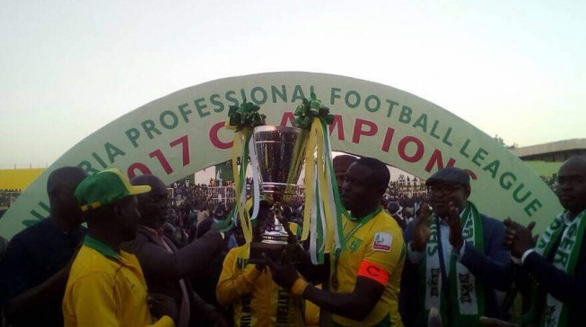 Plateau United crowned Champions of the Nigeria Professional Football League ( NPFL )