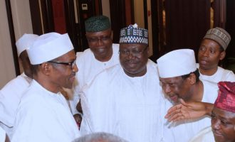 VIDEO: Buhari has no option than to re-contest in 2019, says senate leader