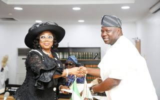 Ambode swears in new chief justice of Lagos