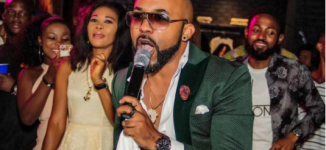 WATCH: Babies, band and a duet with bae — A day in the life of Banky W