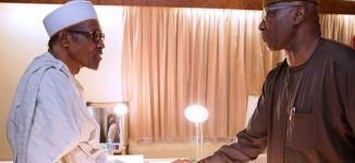 PHOTOS: New SGF meets Buhari