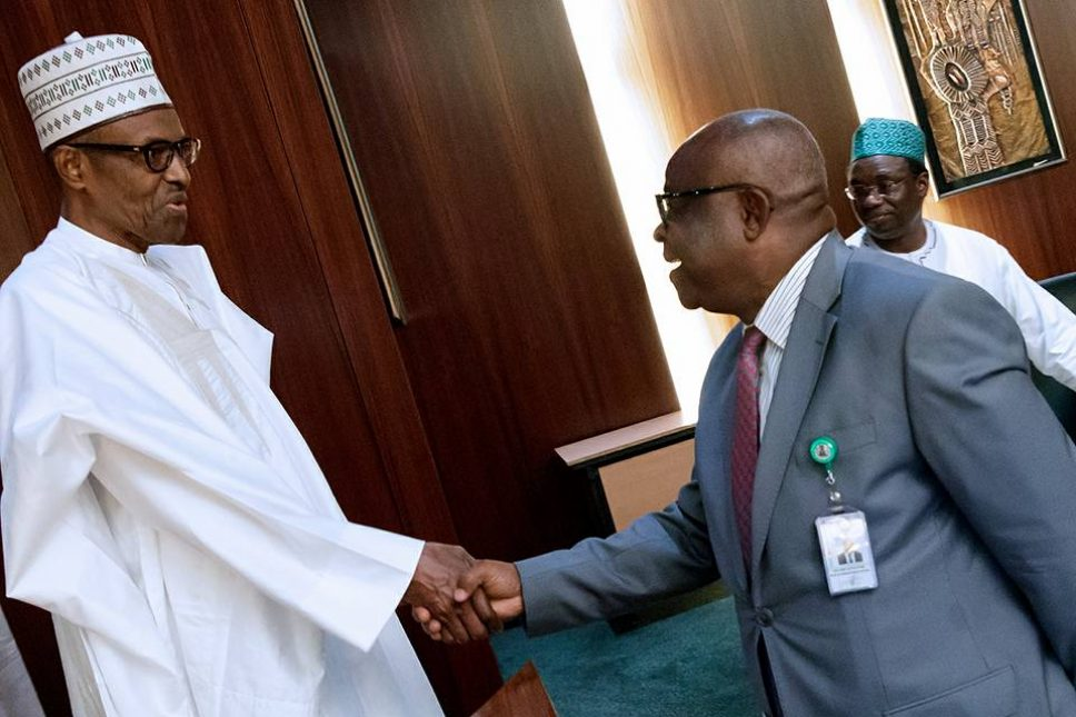 Buhari hosts judges in Aso Rock