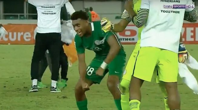 WATCH: Iwobi's goal that sent Nigeria to 2018 World Cup