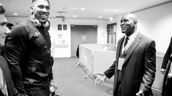 Joshua and Wilder can make $250m if they fight, says Holyfield