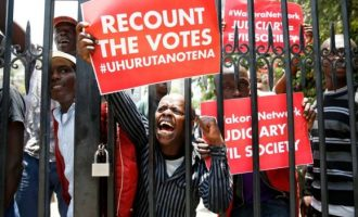 Protests, boycott as Kenya holds election rerun